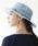 milsa(ミルサ)の「【milsa】 WASHED ADVENTURE HAT/【ミルサ】ウォッシュド アドベンチャー フェス ハット(ハット)」|ライトブルー