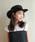 milsa(ミルサ)の「【milsa】 WASHED ADVENTURE HAT/【ミルサ】ウォッシュド アドベンチャー フェス ハット(ハット)」|ブラック