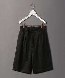 <6(ROKU)>HEAVY LINEN SHORT PANTS/ショートパンツ