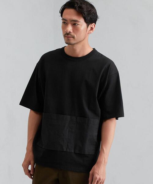 SC G/DYE コンビクルー 半袖 Tシャツ