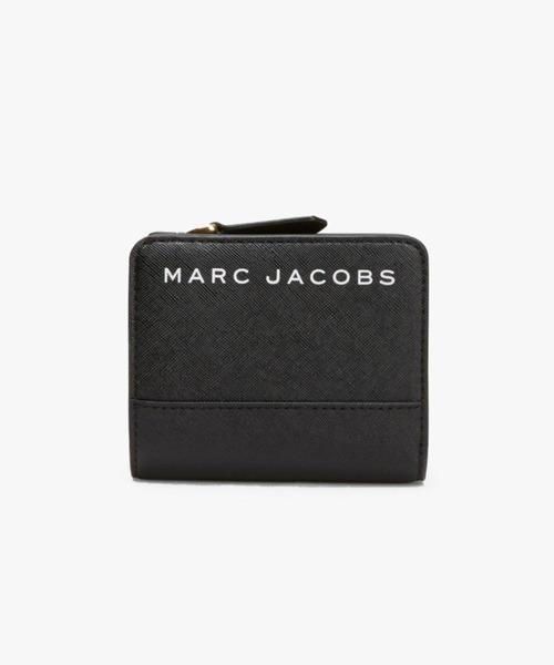 9cc0a03034d MARC JACOBS(マークジェイコブス)のSAFFIANO/ブランディッド サフィアノ ミニコンパクト ウォレット ミニ