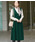 ROPE' PICNIC(ロペピクニック)の「【WEB限定】プレミアムフィールジャンパースカート(ジャンパースカート)」|グリーン