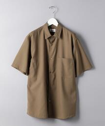 <UNITED ARROWS> W レギュラーカラー ショートスリーブシャツ