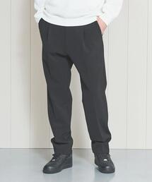 <H>DOUBLE CLOTH 1P TAPERED PANTS/パンツ