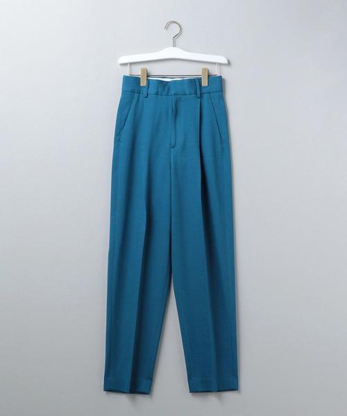 <6(ROKU)>TUCK PANTS/パンツ