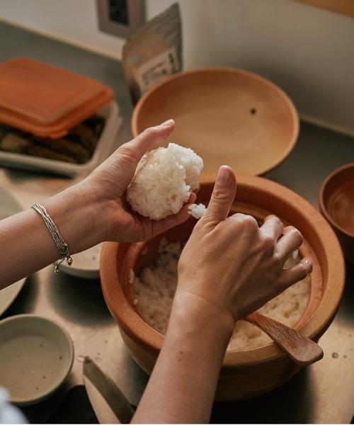 Homeland 信楽焼 米炊き釜3~4合 T.Cオリジナル