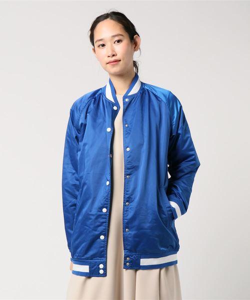 LINE8-ボンバージャケット/MA-1/SURF BLUE