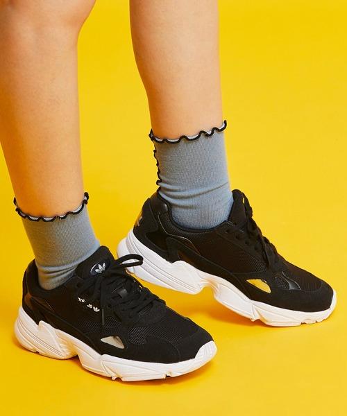adidas(アディダス)の「[ADIDASFLCN W] アディダスオリジナルス(スニーカー)」|ブラック