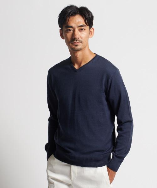豪奢な DESIGNWORKSメリノウールVネックニット(ニット/セーター)|DESIGNWORKS(デザインワークス)のファッション通販, お気にいる:46198fea --- steuergraefe.de