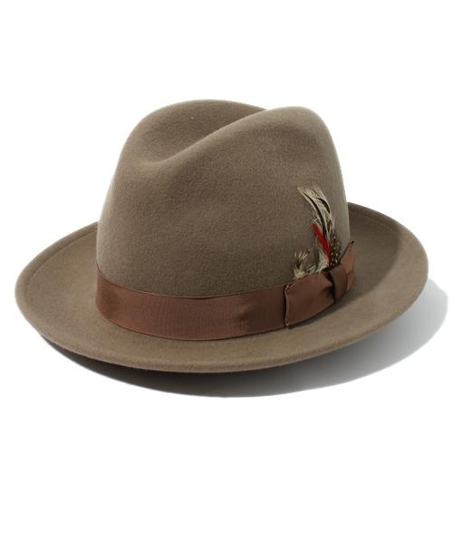 当社の 【セール】Schott/ショット/FEDORA HAT HAT// フェドラ フェドラ フェルトハット(ハット)|NEW YORK HAT(ニューヨークハット)のファッション通販, KVK AQUA SHOP:86728f80 --- blog.buypower.ng
