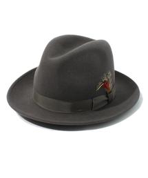 NEW YORK HAT(ニューヨークハット)のSchott/ショット/FEDORA HAT/ フェドラ フェルトハット(ハット)