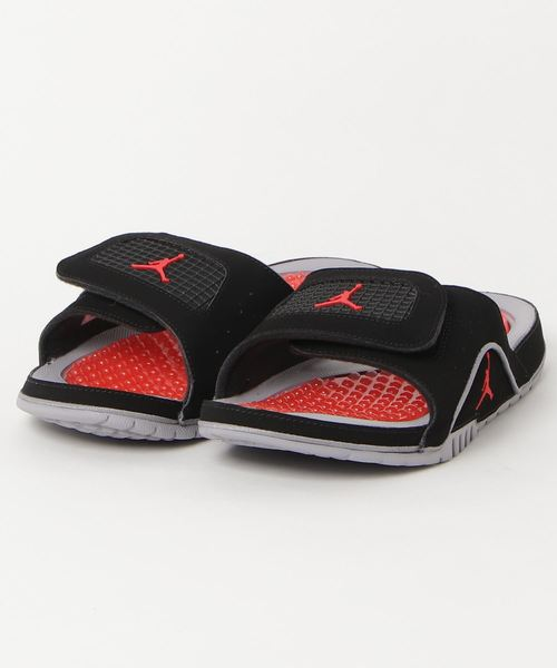 New Nike Jordan Hydro 4 Retro Slide Sports Sandals Slippers 532225-006 Black