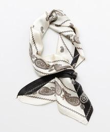 チャイハネ(チャイハネ)の【チャイハネ】レトロペイズリー柄スカーフ(バンダナ/スカーフ)