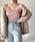 Mayree(メイリー)の「☆CanCam9月号掲載アイテム☆ レーヨンリブキャミソール(キャミソール)」|ピンク