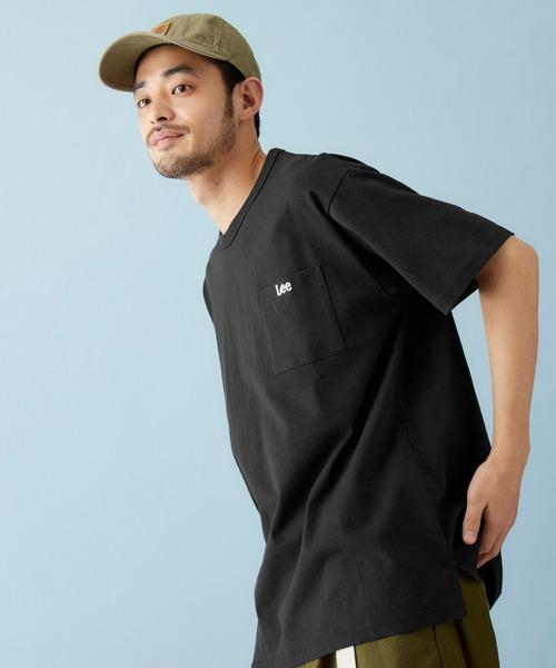 Lee/リー H/S POCKET-TEE ロゴ刺繍ポケット半袖Tシャツ