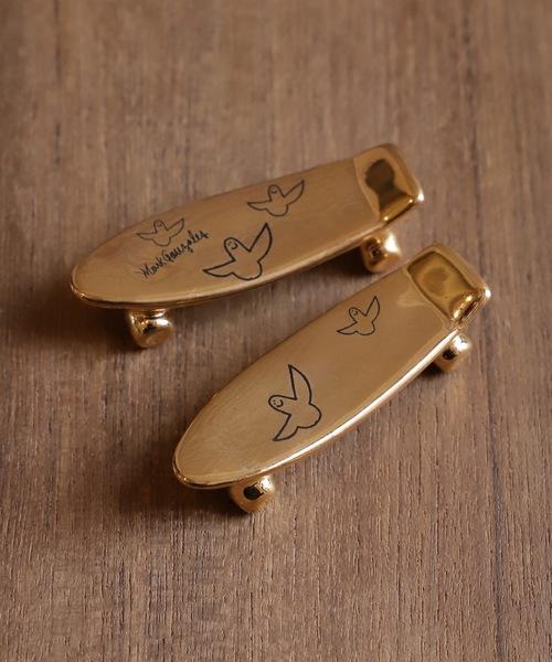TALKY(トーキー)の「【Mark Gonzales】pikapika skate board chopstick rest / ピカピカスケボー箸置き(カトラリー)」|ゴールド
