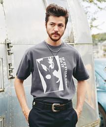 FEELS GOOD プリント Tシャツ