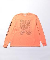 <SECOND/LAYER> SPIRAL LSL TEE/Tシャツ