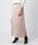 GALLARDAGALANTE(ガリャルダガランテ)の「サテンロングスカート(スカート)」|詳細画像