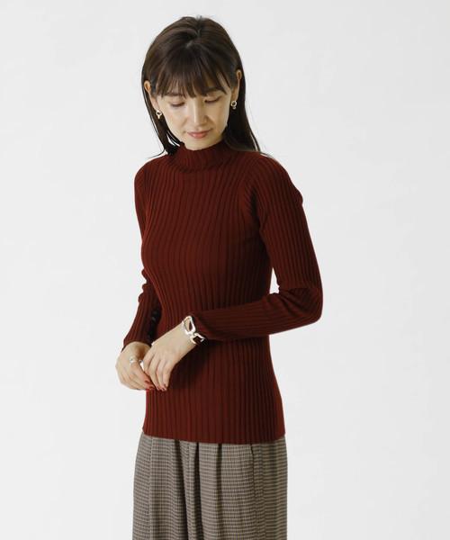新作モデル ZEFFIROリブニットプルオーバー(ニット/セーター)|1er Arrondissement(プルミエアロンディスモン)のファッション通販, クシロシ:17ceb3fe --- fahrservice-fischer.de