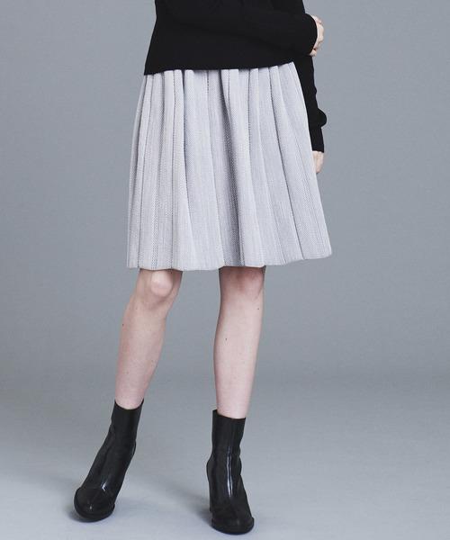 フジオカシ ツィードニットスカート(スカート)|LANVIN en en en オン Bleu(ランバンオンブルー)のファッション通販, 表札デザイン製作 カロカロウ:a6069bbb --- iron.innorec.de