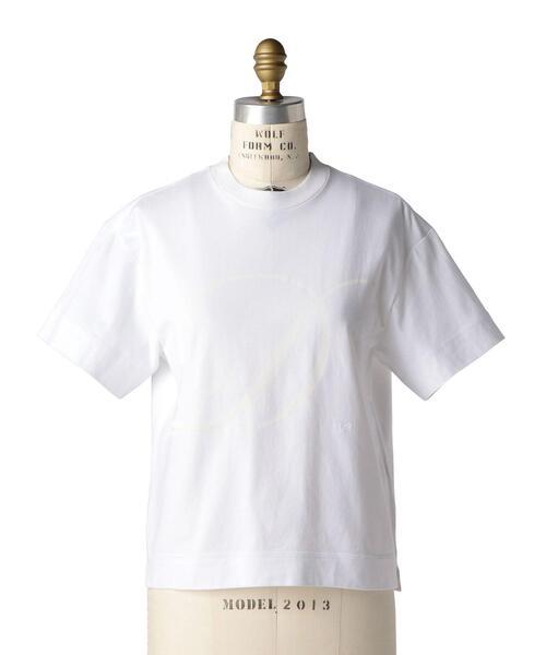 〈WEB限定〉 Drawer イニシャルプリントTEEシャツ