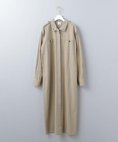 <6(ROKU)>COTTON KARSEY DRESS/ワンピース