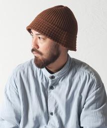 RACAL(ラカル)のDown Brim Knit Metro Hat / ダウンブリムニットメトロハット(ニットキャップ/ビーニー)