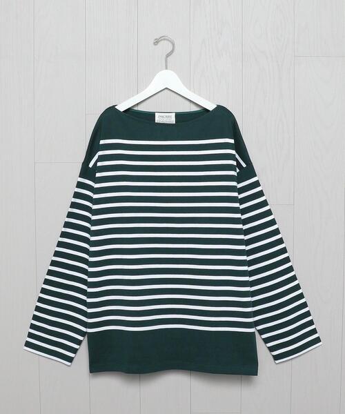 <INSCRIRE × H>BORDER LONG SLEEVE T-SHIRT/Tシャツ.