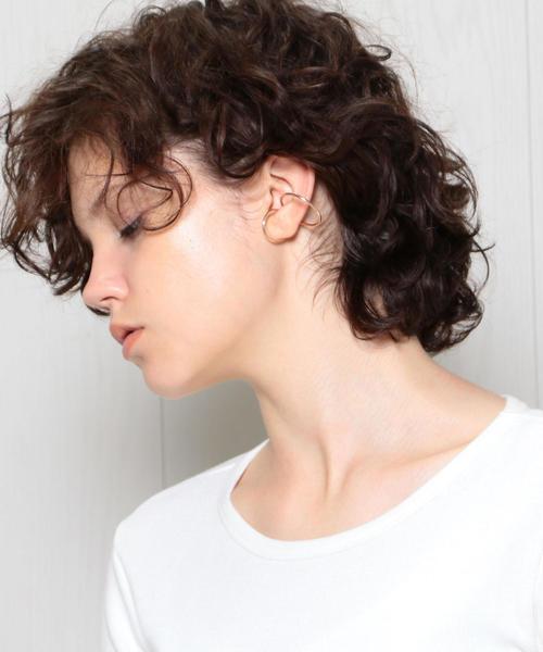 <SASKIA DIEZ>DOUBLE WIRE  EAR CUFF/イヤーカフ
