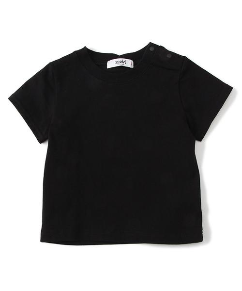 【Disney】プリント柄チュニック×Tシャツセット