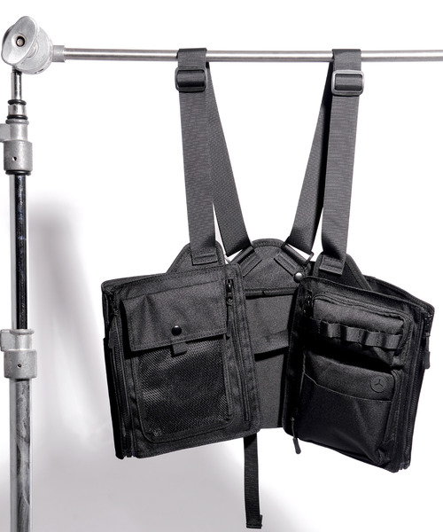 HF×Hayato×DEVICE トリプルコラボ 変形ゲームベスト ベスト型バッグ