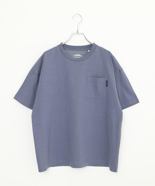 触れるとヒンヤリする接触冷感UVカットTシャツ