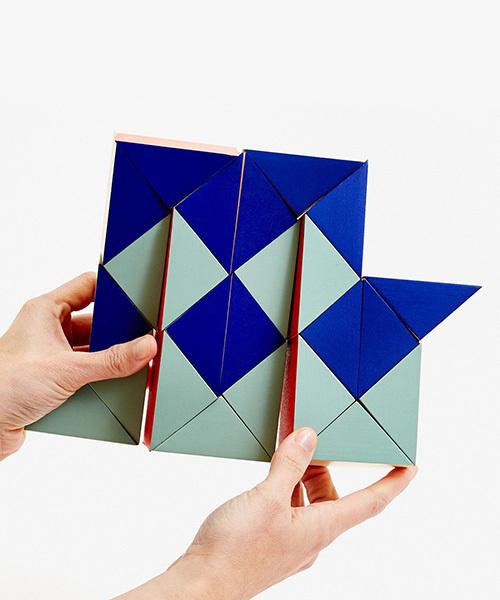 AREAWARE/スネークブロック ラージ レッド/ブルー