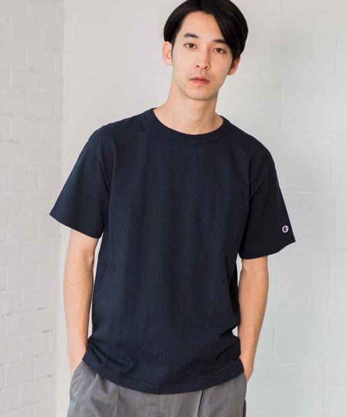 [チャンピオン] SC CHAMPION T1011 US ポケット Tシャツ