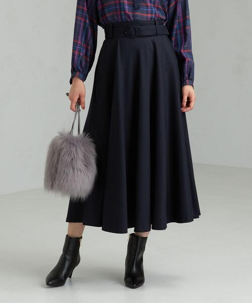 FFC サキソニー サーキュラー ベルト スカート ※