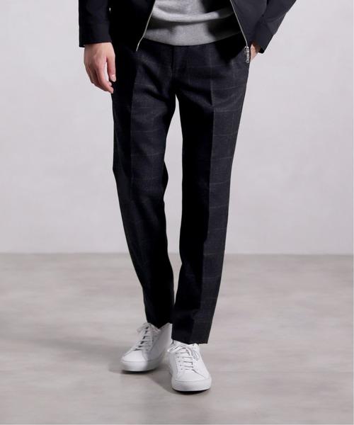 爆買い! メランジ グレンチェック テーパード パンツ(パンツ)|EDIFICE(エディフィス)のファッション通販, パートナーズ:9e4976a7 --- tsuburaya.azurewebsites.net