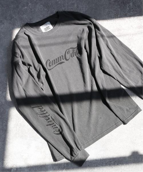 【CC21/シーシーツーワン】Designs ロングスリーブTシャツ