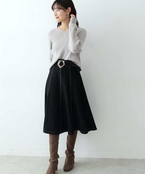 ◇ウーリッシュマーメイドスカート
