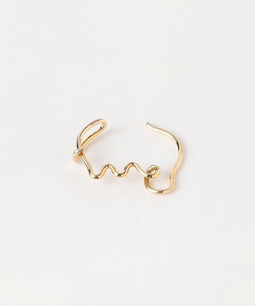 <R.ALAGAN>VINE FICKLE BANGLE GOLD PLATED/バングル Ψ