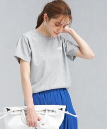 [ ザ ノースフェイス ] ★★SC THE NORTH FACE ショートスリーブ スクエア ロゴ クルーネック Tシャツ