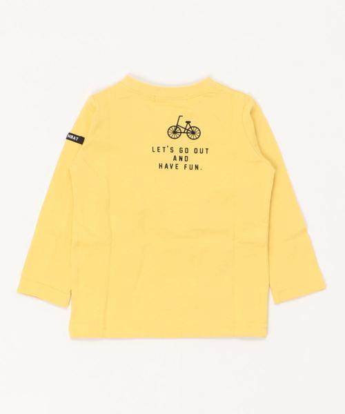 nico hrat/ニコフラート 車ロングTシャツ
