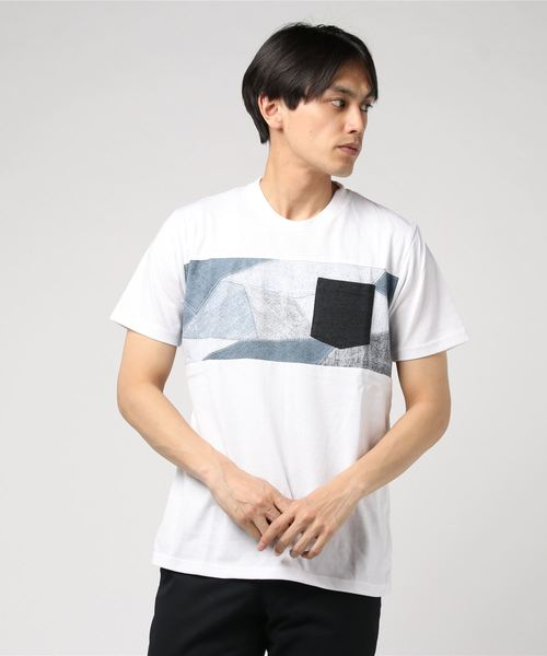 OUTDOOR PRODUCTS×ZERO STAIN 切替Tシャツ
