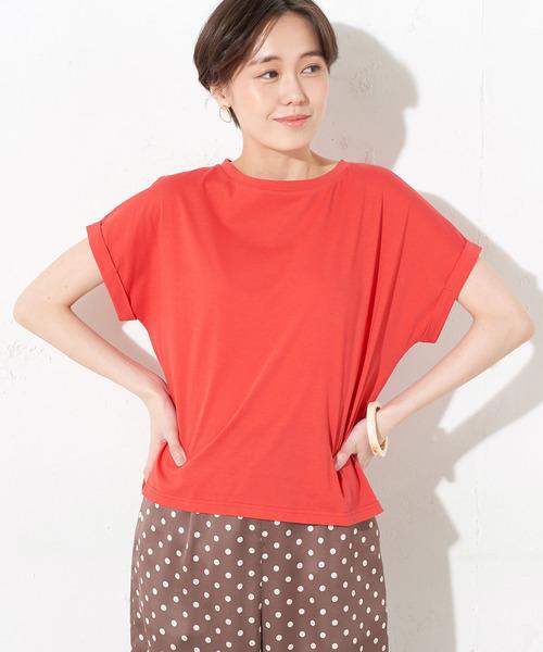 ペルーコットンロールアップTシャツ