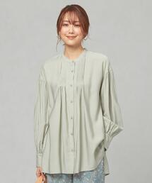 <closet story> CSC RA/Nカルゼ ピンタック シャツ