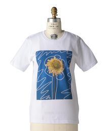 < LISA KING (リサ キング)> SUN FLOWER  TEEシャツ