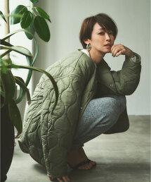 【別注】<OUTERSUNSET life × WILD THINGS × green label relaxing > キルト ジャケット