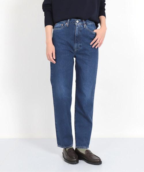 最新な [D.M.G/ ディーエムジー]/ 12ozブルーキャストデニム ハイライズテーパード(デニムパンツ)|D.M.G.(ドミンゴ)のファッション通販, 白老町:fae6c525 --- blog.buypower.ng