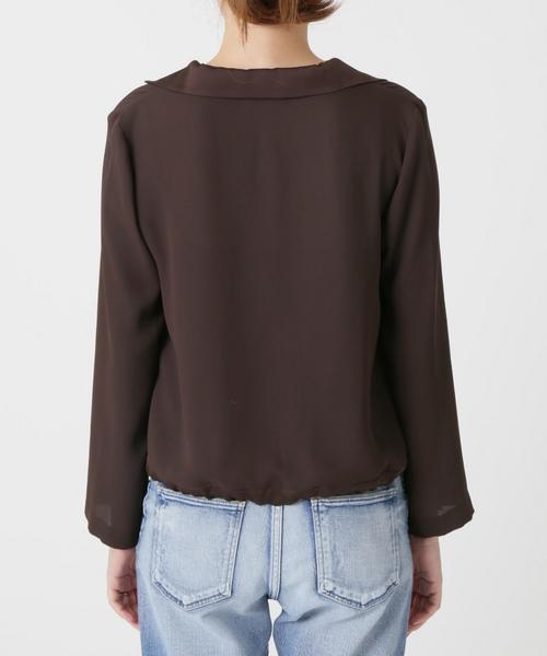【Naoko Tsuji ×La TOTALITE】オープンカラーシャツ【手洗い可能】◆