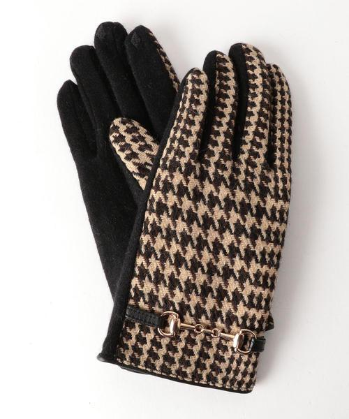 手袋 CS SP グレンチェックビット/グローブ